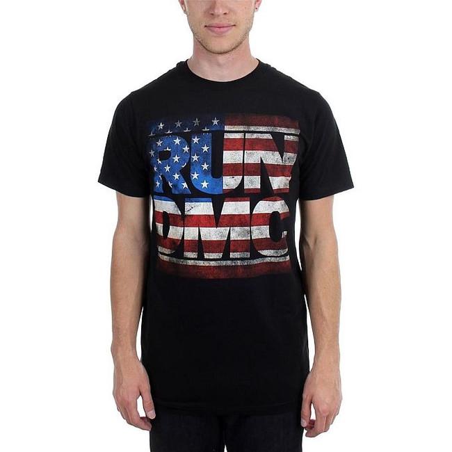 Run DMC Americana Logo T-Shirt