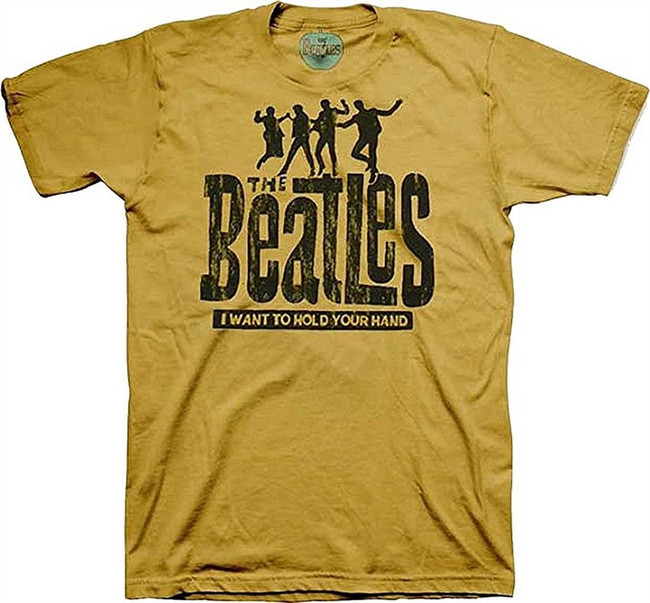 The Beatles Hold Your Hand Men's Tri-Blend T-Shirt