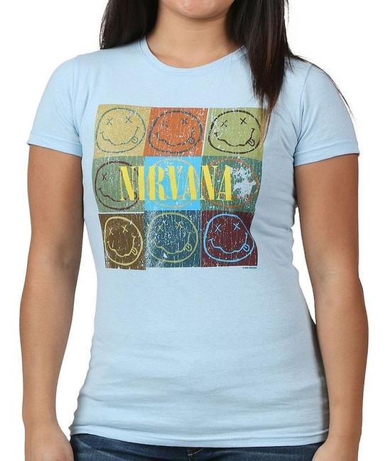 Nirvana Smile Box Junior Women's T-Shirt