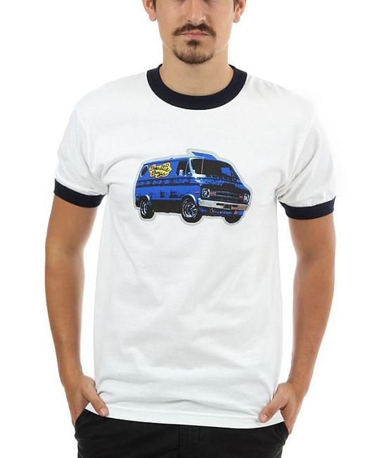 Beastie Boys Van Art Ringer T-Shirt