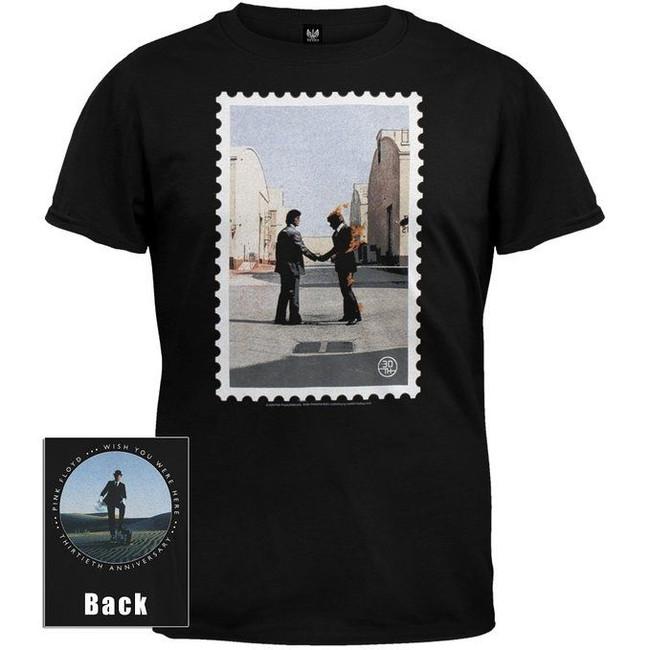 Pink Floyd 30th Anniversary Wish You Were Here Photo Shirt