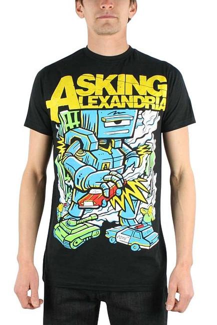 Asking Alexandria Killer Robot T-Shirt