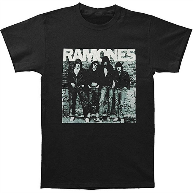 Ramones First Album Men's Black T-Shirt