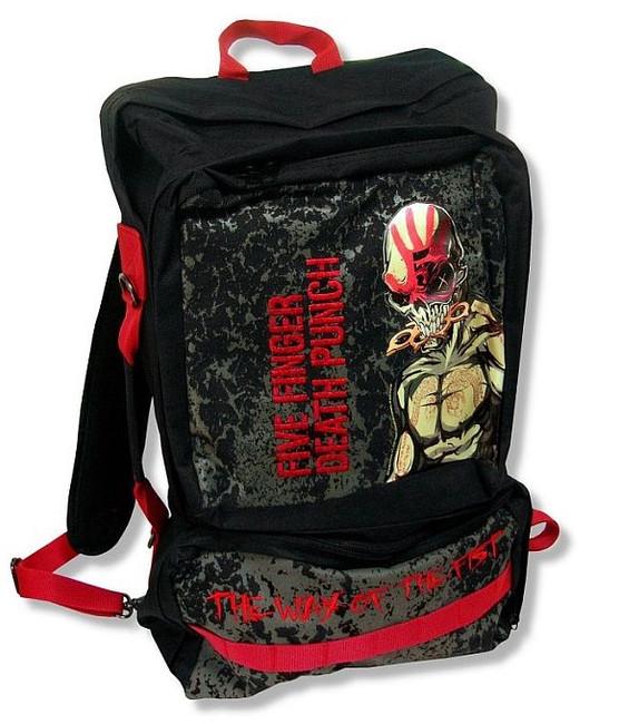 Five Finger Death Punch - WOTF Backpack Bag