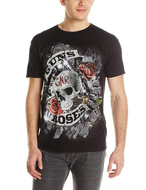 Guns N Roses Skull Firepower T-Shirt