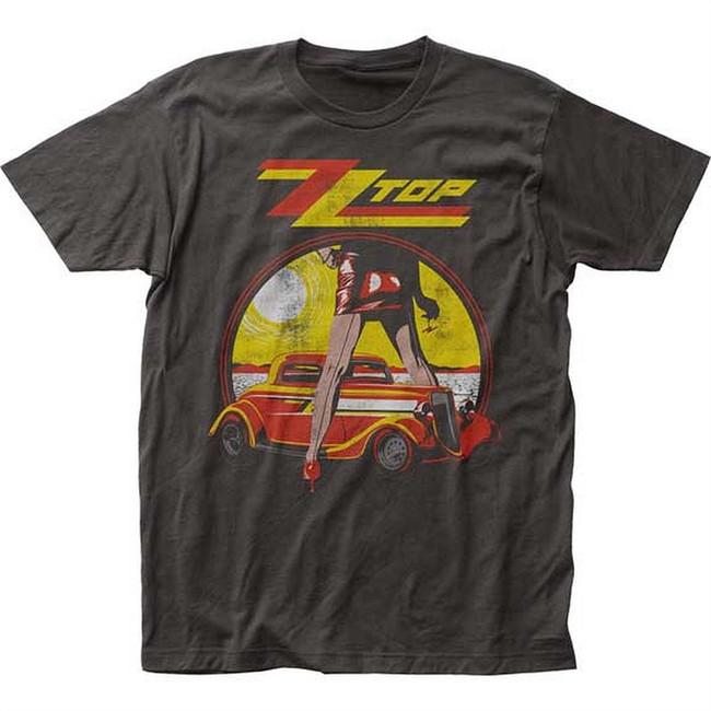 ZZ Top Legs Men's Fitted Jersey T-Shirt