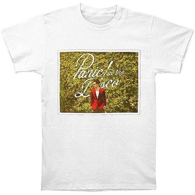 Panic at the Disco Bush Men's White T-Shirt