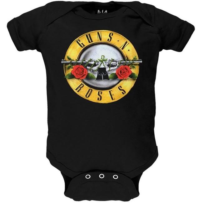 Guns N Roses - Bullet Onesie Baby Onesie T-Shirt