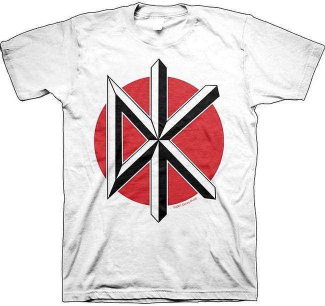 Dead Kennedys Jumbo Logo White T-Shirt