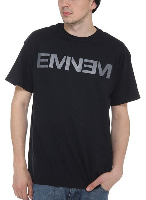 Eminem New Logo Black T-Shirt