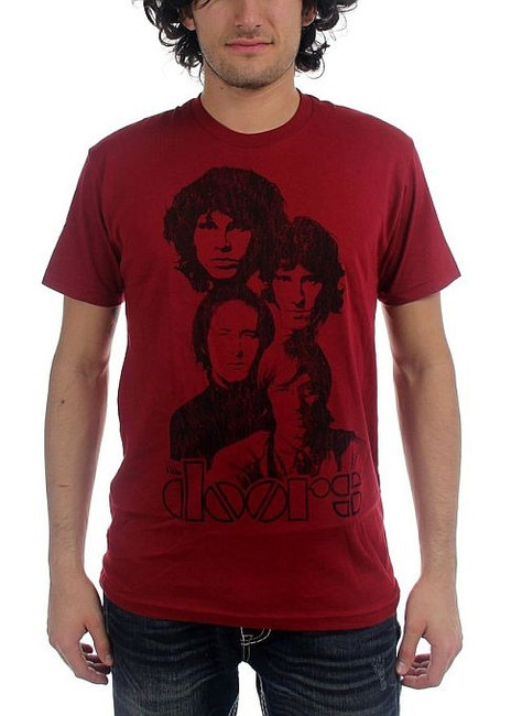 The Doors - Totem 30/1 Enzyme Washed T-Shirt