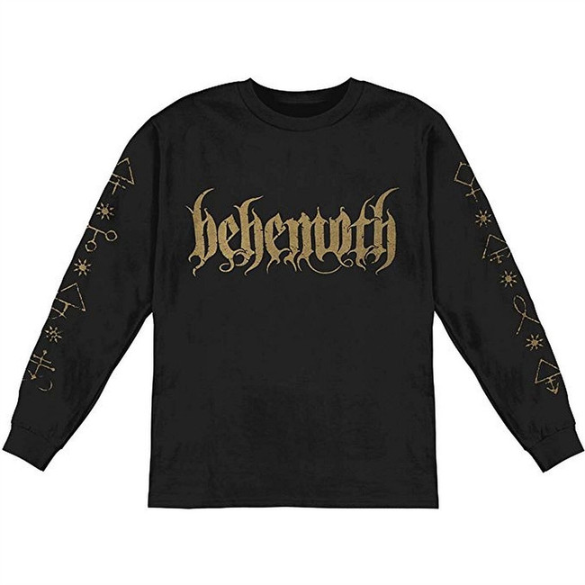 Behemoth Demon Men's Black Long Sleeve T-Shirt