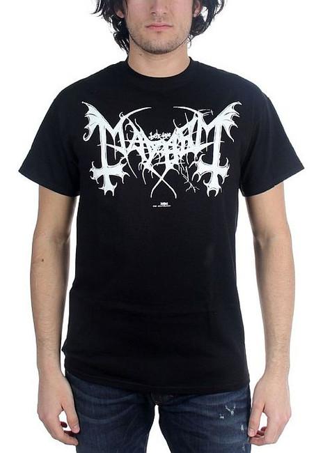 Mayhem - White Logo Legion T-Shirt