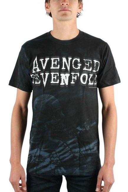 Avenged Sevenfold - Skeleton Mist All Over T-Shirt