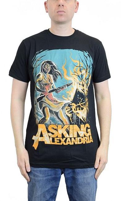 Asking Alexandria Am I Insane Slim Fit T-Shirt