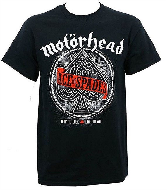 Motorhead MNFSTER Ace of Spades Men's Black T-Shirt