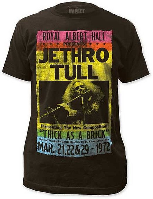 Jethro Tull Royal Albert Hall Distressed T-Shirt
