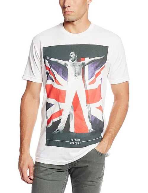 Freddie Mercury Queen Flag T-Shirt