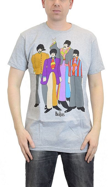 The Beatles Submarine Heather T-Shirt