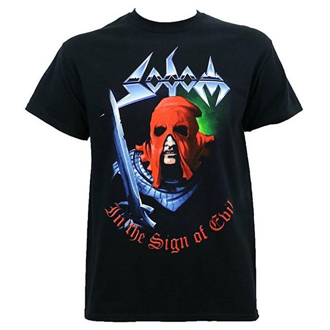 Sodom In The Sign of Evil Men's Black T-Shirt