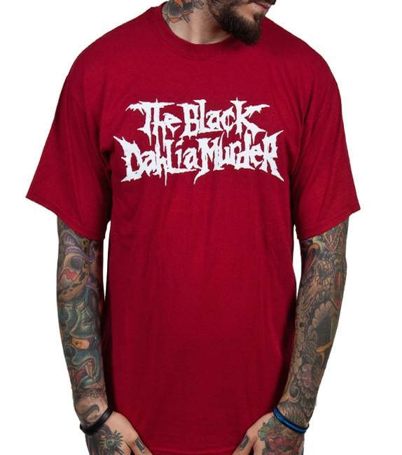 Black Dahlia Murder Classic Logo Red T-Shirt