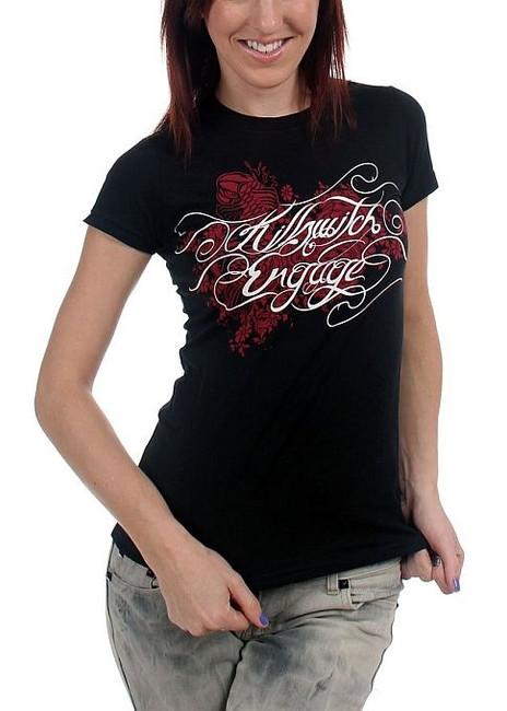 Killswitch Engage Tatt Script Junior Women's T-Shirt