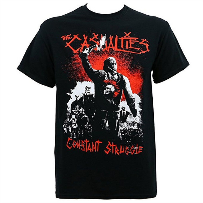 The Casualties Constant Struggle Men's T-Shirt Black