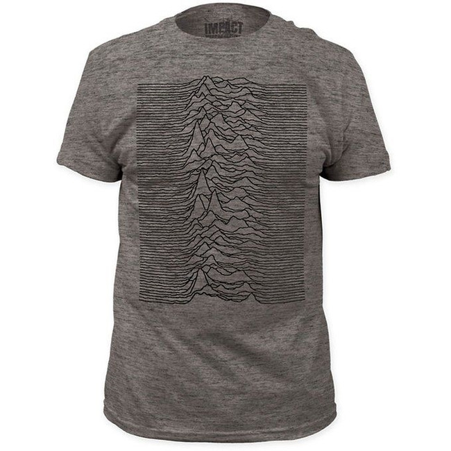 Joy Division Unknown Pleasures Tri-Blend Fitted T-Shirt