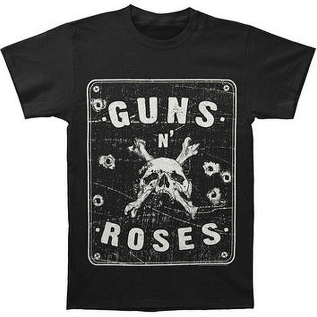 Guns N Roses Street Sign T-Shirt