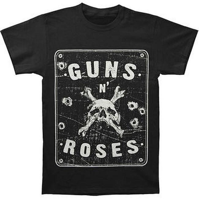 Guns N Roses Street Sign T-Shirt