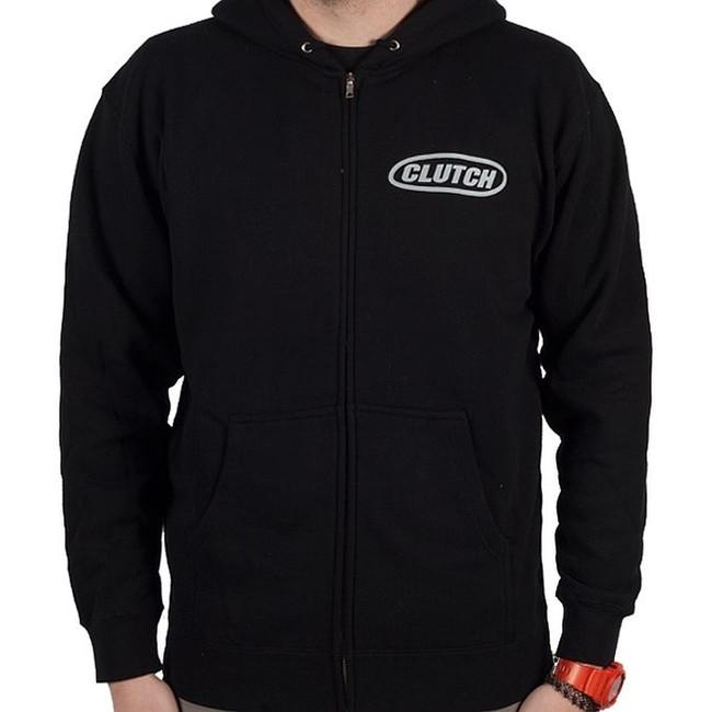 Clutch - Hess 454 Charcoal - Zipper Hoodie Sweatshirt