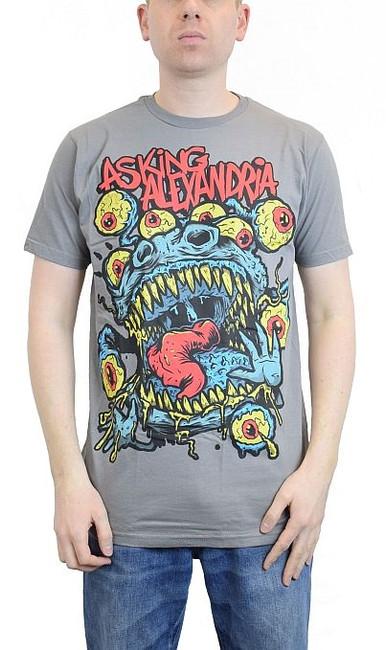 Asking Alexandria Eyeball Monster Slim Fit T-Shirt