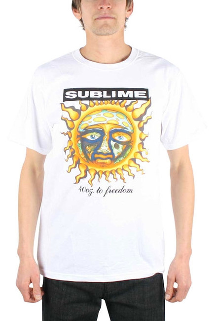 Sublime - 40 oz To Freedom T-Shirt