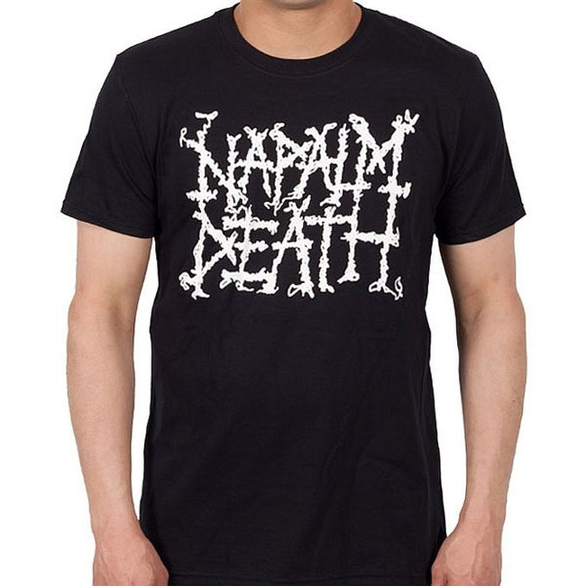 Napalm Death Logo T-Shirt