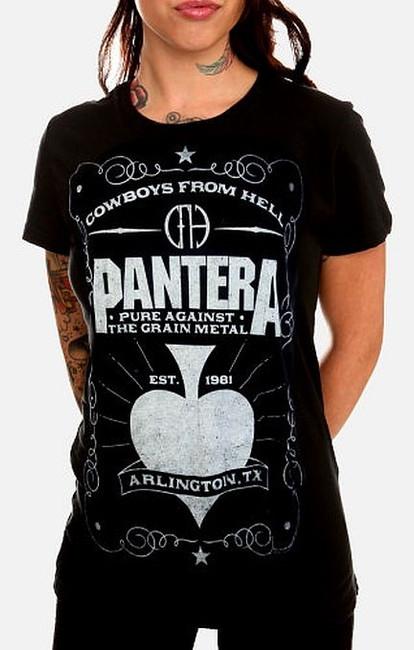 Pantera - Spade Babydoll Junior Girlie T-Shirt
