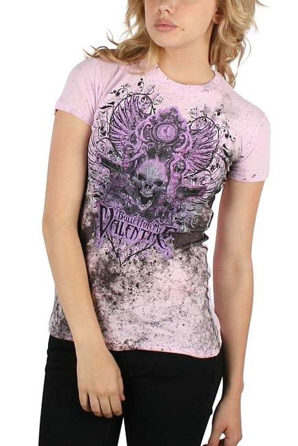 Bullet For My Valentine - Bullet Skull Junior Girlie T-Shirt