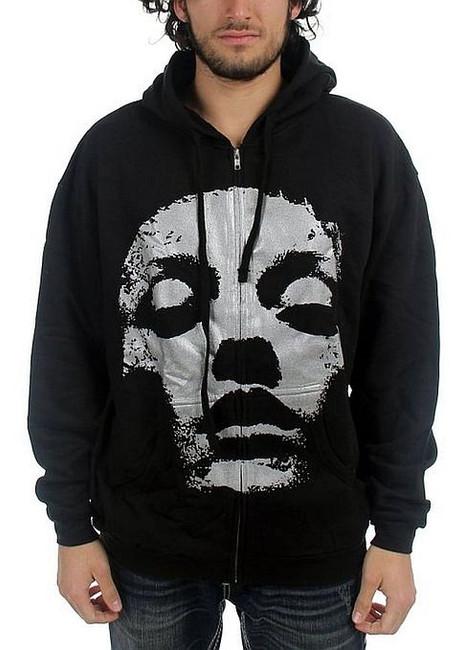 Converge Silver Jane Doe Zip Hoodie Sweatshirt