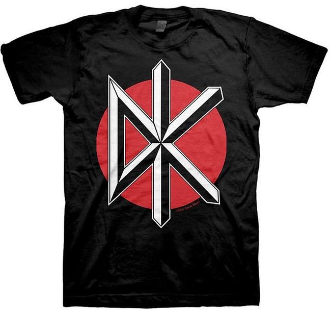 Dead Kennedys Jumbo Logo Black T-Shirt