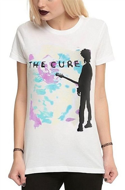 The Cure Boys Don't Cry Junior Women's T-Shirt