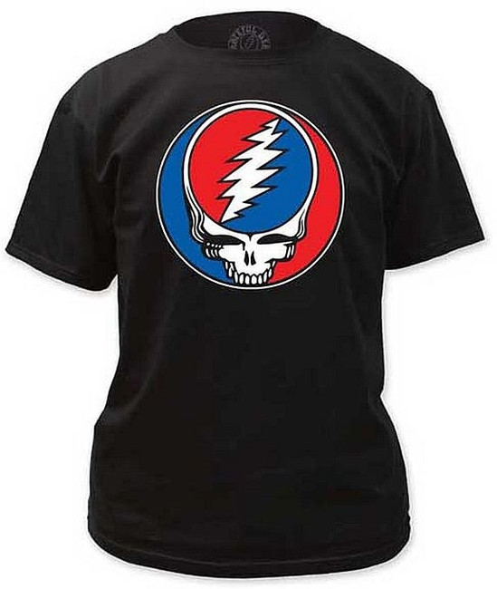 Grateful Dead Steal Your Face Black T-Shirt