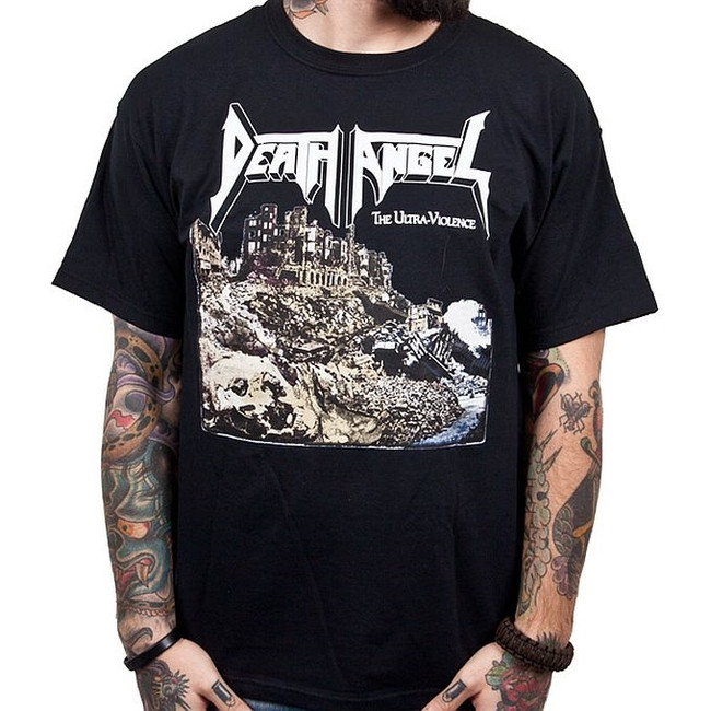 Death Angel The Ultra-Violence Black T-Shirt