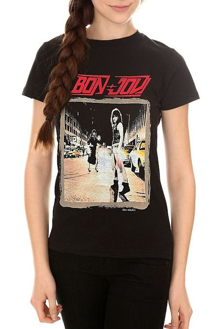 Bon Jovi Runaway Junior Women's T-Shirt