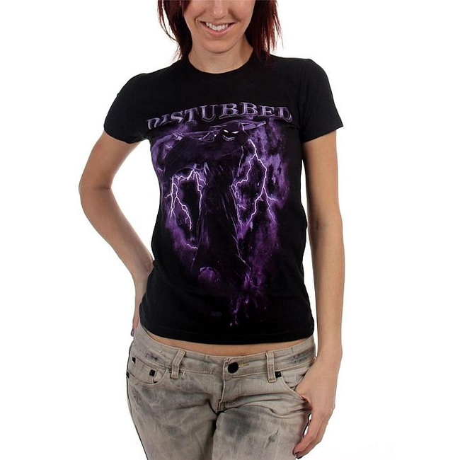 Disturbed - Fear The Reaper Junior Women's T-Shirt