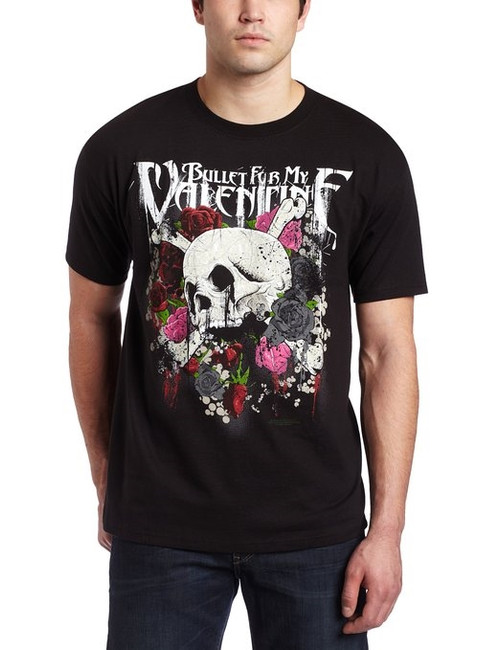 Bullet For My Valentine - Skull and Roses T-Shirt
