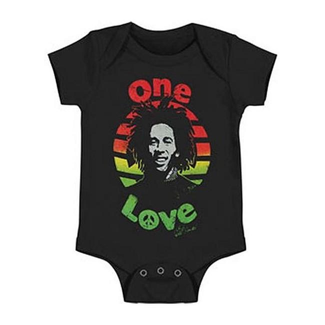 Bob Marley Peace Baby Romper Creeper T-Shirt
