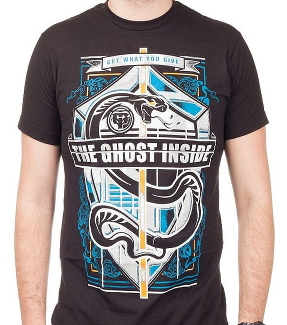 The Ghost Inside Snake Crest T-Shirt