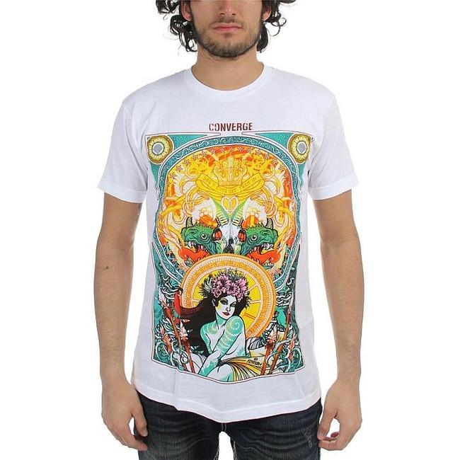Converge Florian White T-Shirt