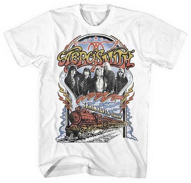 Aerosmith Train Kept a Rollin T-Shirt