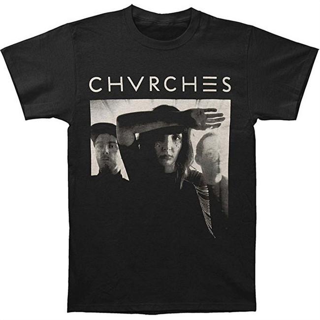 Chvrches Band EOE Men's Slim Fit T-Shirt