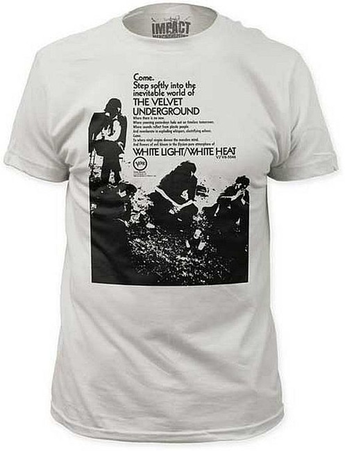 Velvet Underground Come Step Softly Fitted T-Shirt